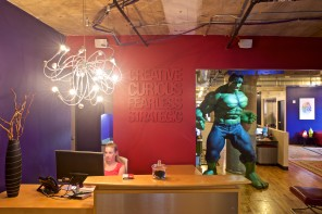 "A Digital Marketing Agency's ""Fearless and Creative"" HQ"