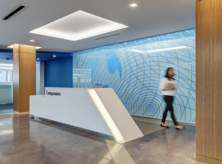 Compuware Consolidates Three Companies Under One Roof Magnificent Office Design Companies