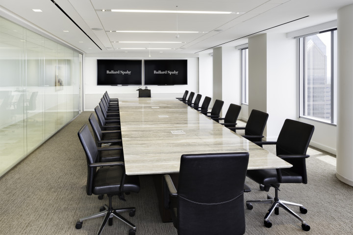 Conference room. Image courtesy of Francis Cauffman.