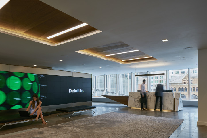 Check Out The Deloitte Office In Montreal
