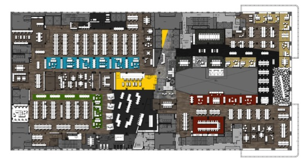 Mediabrands NYC floor plan