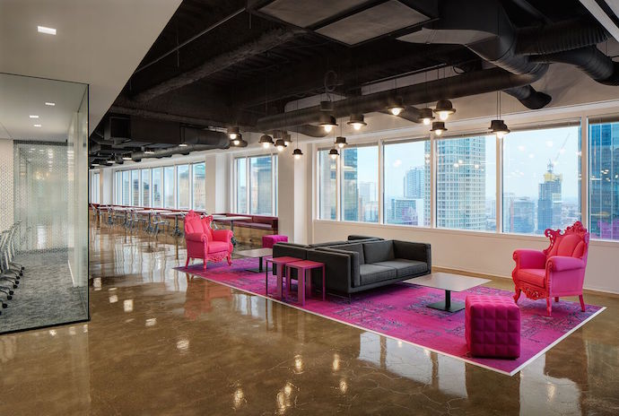 Revitalized Downtown Chicago Office, Modern Furniture Chicago Downtown